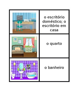 Casa (House in Portuguese) games:  Concentration, Slap, Ol
