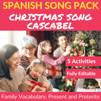 Cascabel: Spanish Song to Practice the Present, Preterite