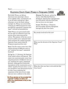 us supreme court case studies