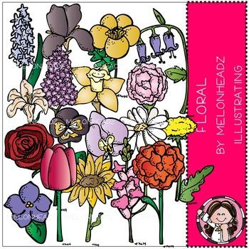 Melonheadz: Floral clip art