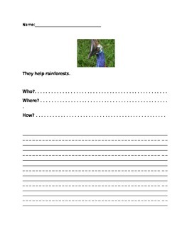 Cassowary Sentence Activity- Scholastic Weekly Reader extension