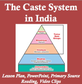 Caste System in India Lesson Plan
