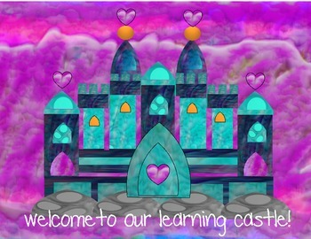 Castle Welcome Signs