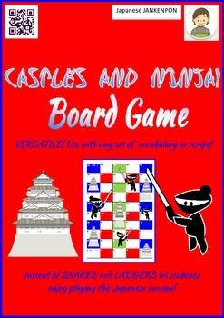 Castles and Ninja Board Game