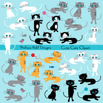 Clipart: Cat Clip Art