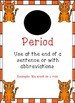 Cat Themed - Punctuation Posters