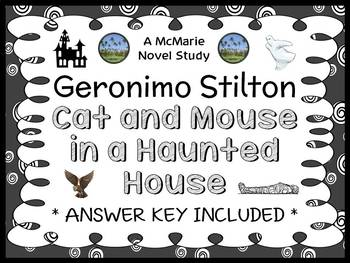 Cat and Mouse in a Haunted House (Geronimo Stilton) Novel
