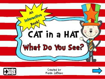 Cat in a Hat Interactive Book