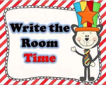 Cat in the Circus Time Write the Room