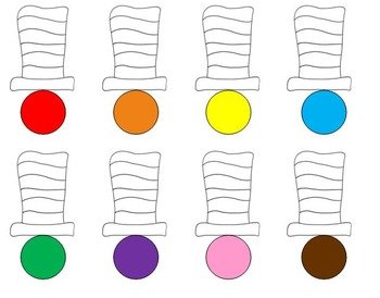 Cat in the Hat Colors
