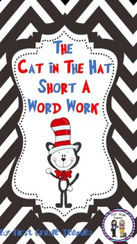 Cat in the Hat Short A Word Work