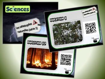 Catastrophes naturelles, série 2 (cartes à tâches) (Scienc