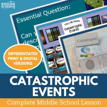 Catastrophic Events Complete 5E Lesson Plan