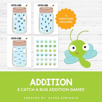 Catch A Bug Addition Games