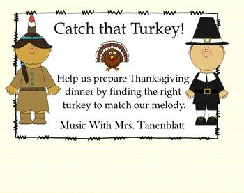 Catch That Turkey! So Mi La staff practice