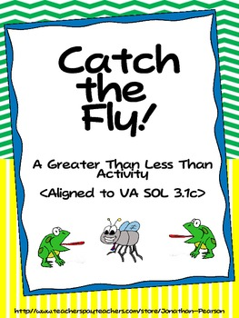 Comparing Numbers  - Catch The Fly!  (Aligned to CCSS and