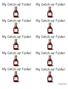 Catch-Up Folder Labels