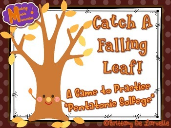 Catch a Falling Leaf - A Game for Practicing - Pentatonic Solfege