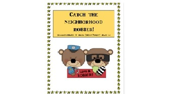 Catch the Robber! Community Helper Group Lesson