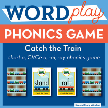 Catch the Train Long A Phonics Game