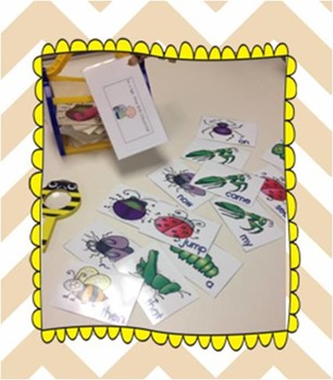Catch these Sight Word Bugs - Be a Sight word Bug Collector