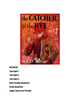 Catcher in the Rye Quizzes, Study and Essay Topics