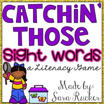 Catchin' Those Sight Words