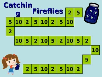 Catching Fireflies - Math Game Skip Counting 2, 5, 10