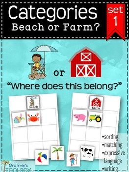 Categories: Beach or Farm