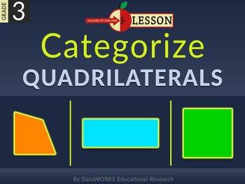 Categorize Quadrilaterals
