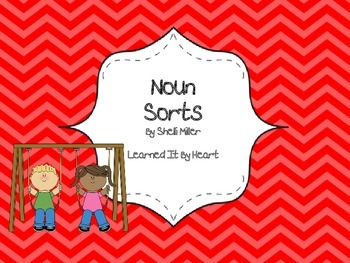 Categorize and Classify Noun Sort