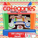 Categorization, Word Retrieval, Vocabulary Bounce House