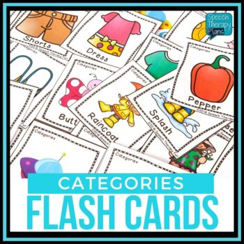 Category Flash Cards