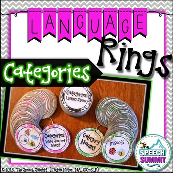 Category Language Rings
