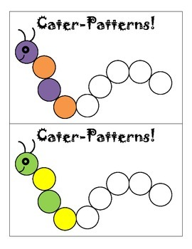 Cater-Patterns