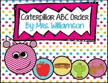 Caterpillar ABC Order