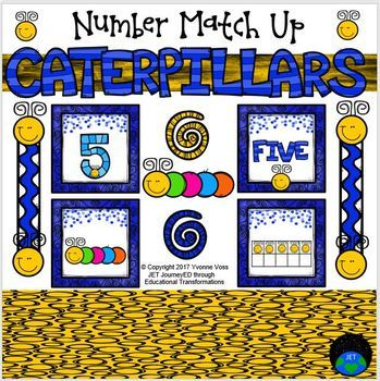 Caterpillar Number Match Up