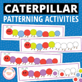 Caterpillar Pattern Activity - Interactive Patterning for Kids