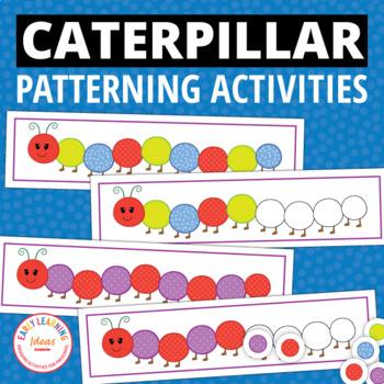 Caterpillar Pattern Activity - Interactive Patterning for Kids