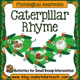 Rhyme - Caterpillar Rhyme Activity