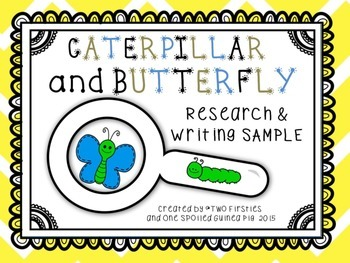 Caterpillar and Butterfly KWL Research And Informational W
