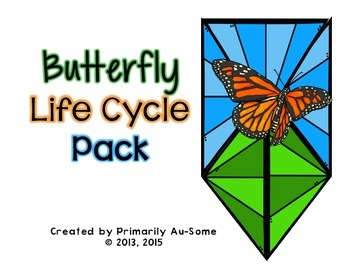 *Caterpillar into Butterfly Life Cycle & Journal*