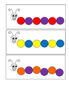 Caterpillar patterns
