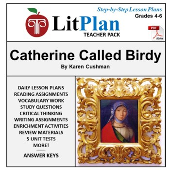 Catherine Called Birdy LitPlan  Lesson Plans, Questions, A