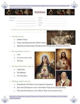 Catholic Catechism Exam and Reflection