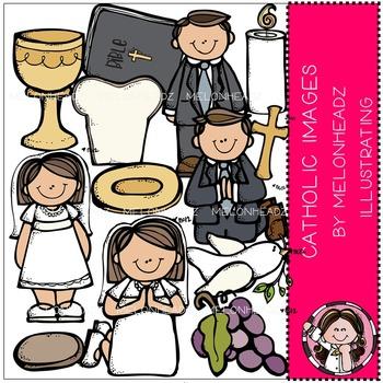 Melonheadz: Catholic clip art - COMBO PACK