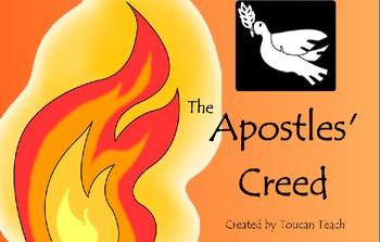 Catholic Prayer The Apostles Creed SMARTBoard Activities