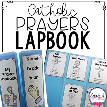 Catholic Prayers Lapbook