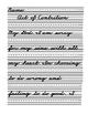 Catholic Prayers Zaner Bloser Cursive Handwriting Practice