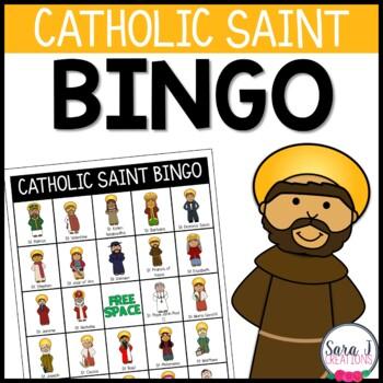 Catholic Saint Bingo